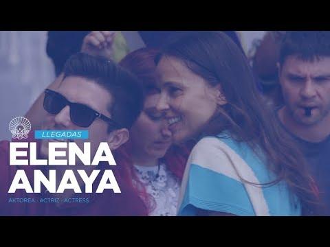 Llegada de Elena Anaya
