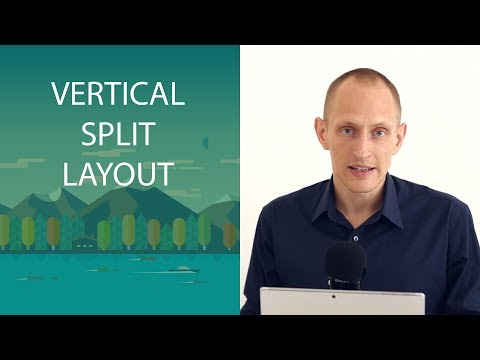 How to Create the Vertical Split Web Design Layout (using Thrive Architect)