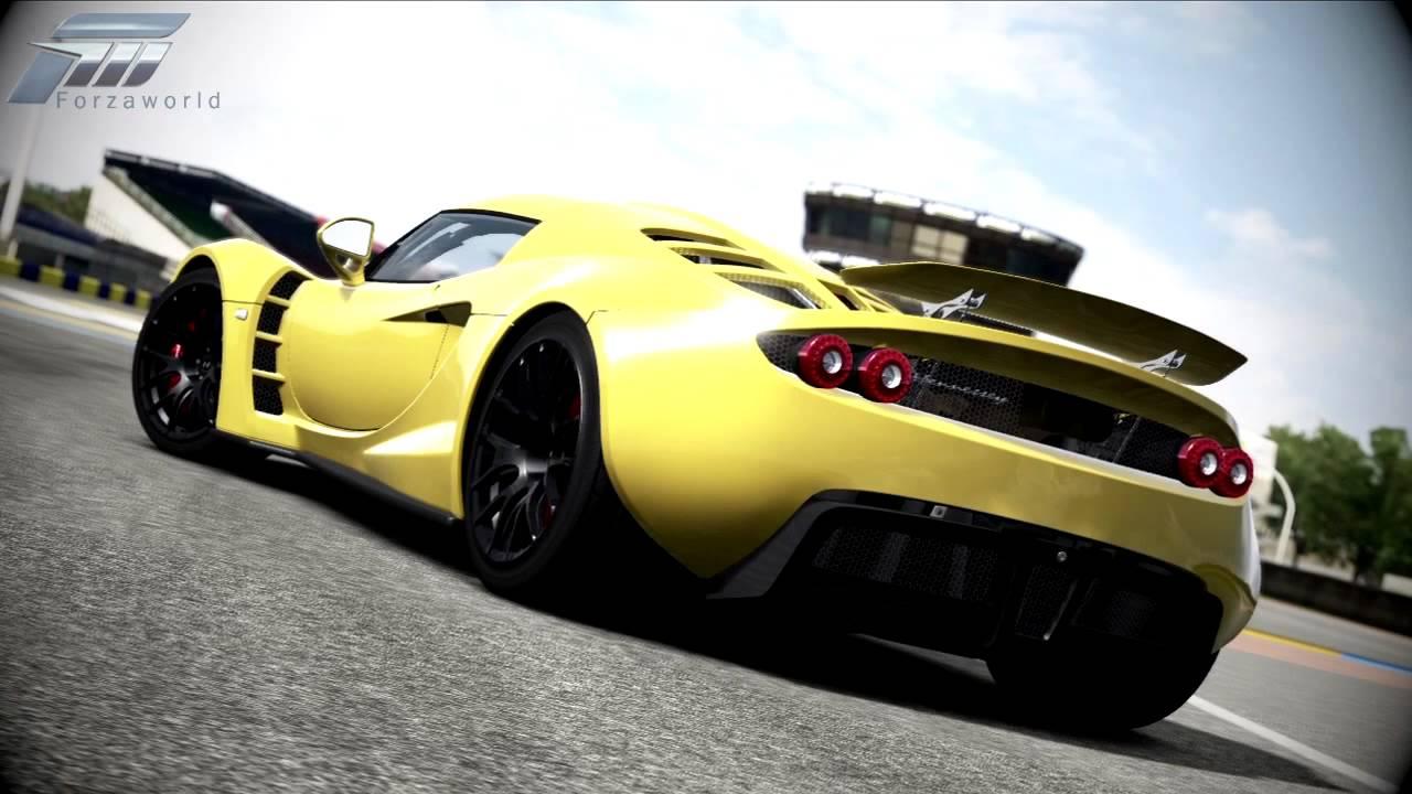 Forza 4 Hennessey Venom Gt Vs Bugatti Veyron Super