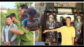 Người cha cầm thú chỉ nơi góc buồng bé gái 11 tuổi bị 2 tên này xâm hại nhiều lần .