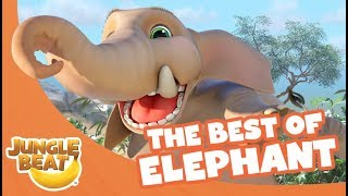 Video The Best of Elephant - Jungle Beat Compilation [Full Episodes] download MP3, 3GP, MP4, WEBM, AVI, FLV Agustus 2018