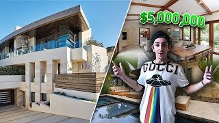 MY BRAND NEW $5,000,000 HOME!! **INSANE**