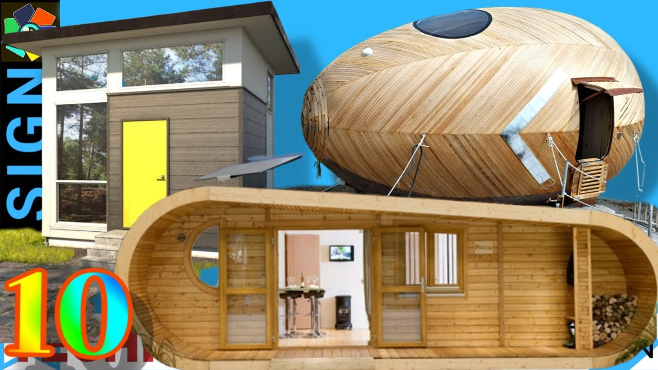 10 Beautiful Tiny Houses perfect for Self Isolation