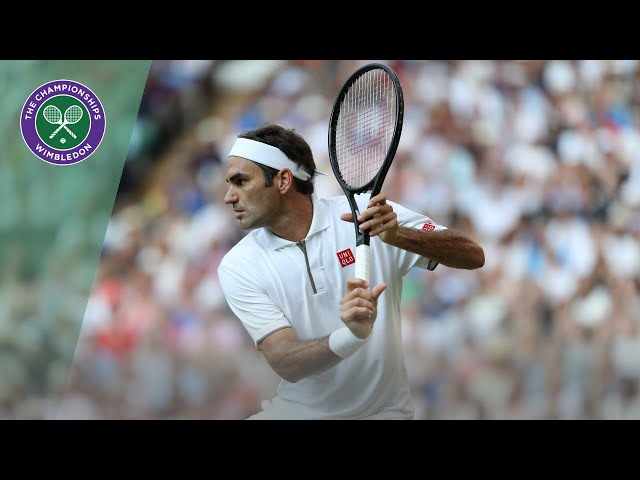 Roger Federer vs Rafael Nadal Wimbledon 2019 semi-final highlights