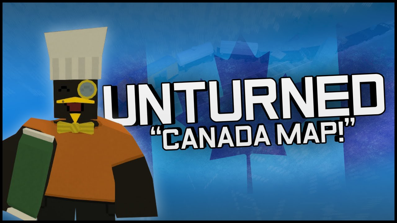 unturned gameplay part 1 new canada map zombie