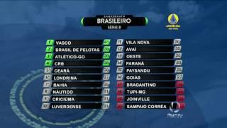 Tabela brasileirão 2016 serie completa