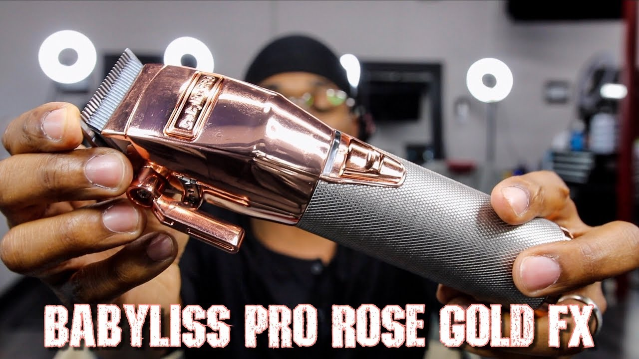 BABYLISS PRO ROSE GOLD FX REVIEW  PROS   CONS - YouTube 45095c17207