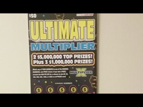 $50 Ticket Indiana Lottery  1st Live Stream