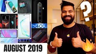 Top Upcoming Smartphones - August 2019 🔥🔥🔥
