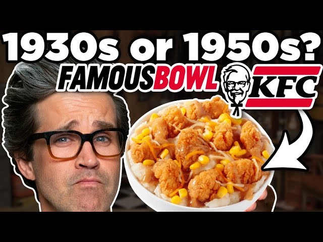 When Was This KFC Food Invented?