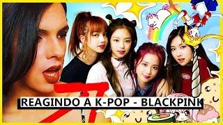 REAGINDO A K-POP! - BLACKPINK   '뚜두뚜두