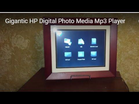 Big Screen HP Digital Photo Media Mp3 Player