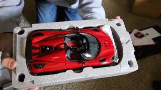 Unboxing - 1:18 Scale AUTOart Koenigsegg Agera