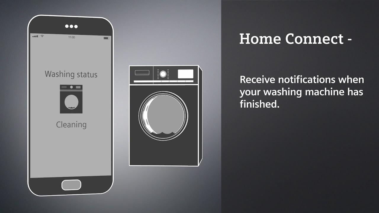 siemens home connect - appareils éléctroménagers connectés - youtube