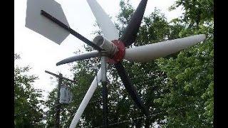 Автономное электроснабжение бытовки. Ветрогенератор своими руками.