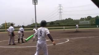 小野南中学校 野球部 2017.6.24 旭丘中学校(市内総体)
