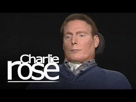 Christopher Reeve talks with Charlie Rose   Charlie Rose