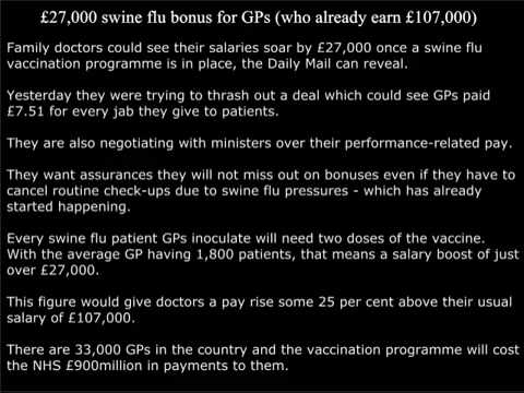 UK DOCTORS OFFERED £27`000 BONUS TO GIVE VACCINE THEY WOULDN`T TAKE THEMSELVES