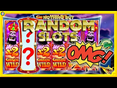 ONLINE SLOTS USING 'PLAY A RANDOM SLOT' BUTTON !!! - 동영상