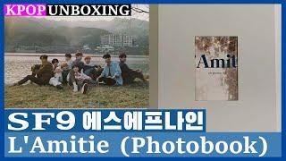 Unboxing SF9 [L'Amitie] 에스에프나인 1st Photobook Kpop Unboxing 케…