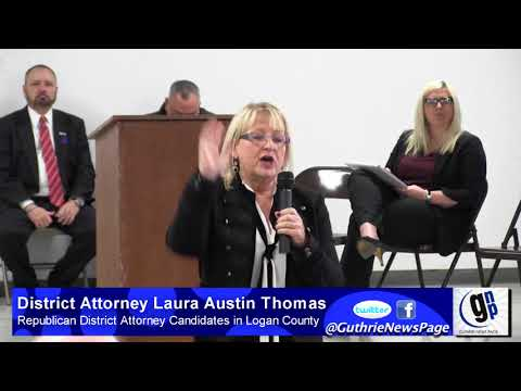 Republican Candidates for Logan and Payne County District Attorney