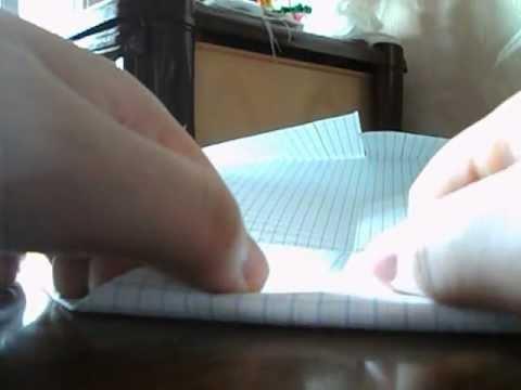 Оригами кошелёк с двумя