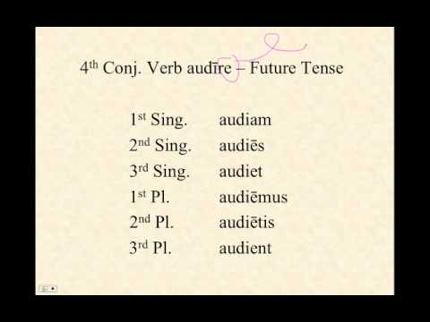 how to teach conjugation of verbs