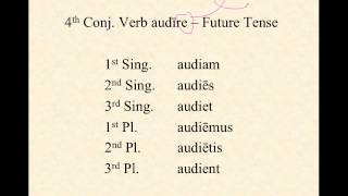 4th Conjugation Verbs