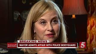 Mayor Admits Affair With Police Bodyguard