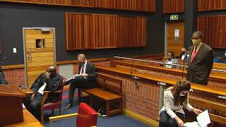 Vincent Smith and Angelo Agrizzi in court