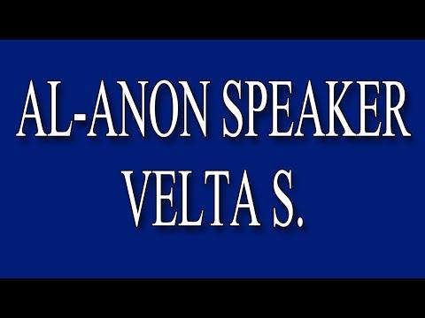 AlAnon Speaker Velta S.