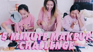 [9.55 MB] 5 MINUTE MAKEUP CHALLENGE WITH CUPCAKE AISYAH & LUNA TASHA