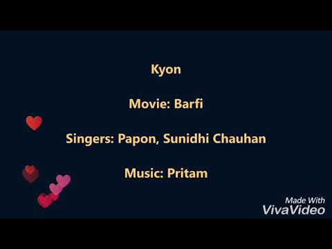 Kyun Na Hum Tum By Faraaz Siddiqui | Lyrical Song |