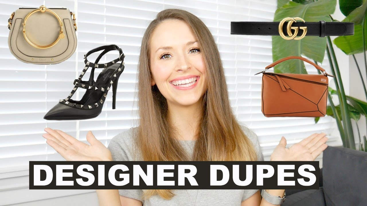 9decfd19a22d DESIGNER DUPES FROM AMAZON ✨ Chloe, Gucci, Valentino, Chanel, Loewe ...