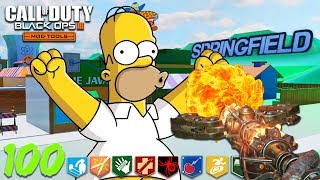 """SIMPSONS ZOMBIES"" - BUYABLE ENDING & ALL FOUR STAFFS 
