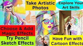 ArtistA Cartoon,Sketch Filtrts & Artistic Effects photo editor Best cartoon App screenshot 4