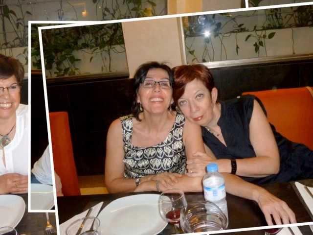 Reunión antiguas alumnas de La Pureza. Promoción del 72