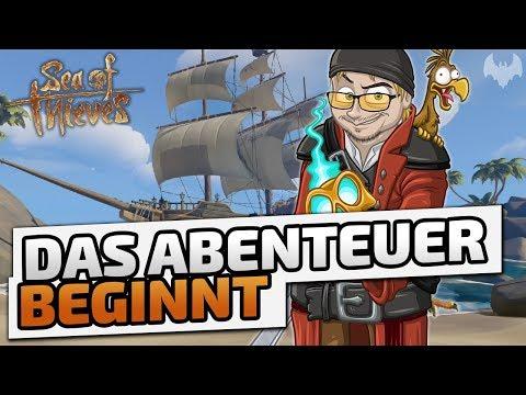 Das Abenteuer beginnt - ♠ Sea of Thieves #001 ♠ - Deutsch German - Dhalucard