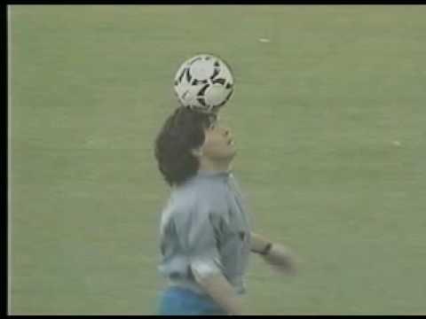 Soccer - Maradona Ball Skills.mpg