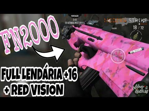 MSO, FN2000 FULL +16 COM RED VISION... A MAIS NOVA ARMA DELÍCIA!!!