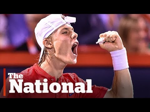 The National for Friday August 11, 2017 |U.S. Escalates Threats, Whale Plan, Canadian Beats Nadal