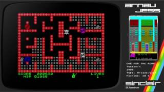 ONE FOR THE ROAD Zx Spectrum by Tynesoft