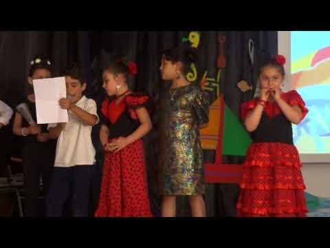 Despedida A Isabel (Acto De Clausura Colegio Español De Alhucemas, 2018)