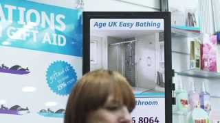 Age UK Deploy Digital Signage from Amscreen