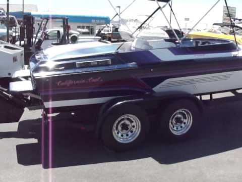 1997 California Cool 23 Offshore Walk Around Boulder Boats