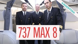Entrevista con los pilotos que trajeron el 737 Max a la Argentina