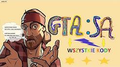 GTA SA: WSZYSTKIE KODY