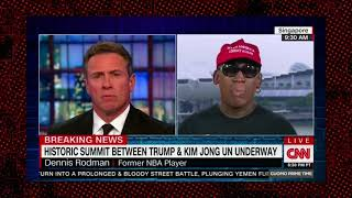 Dennis Rodman Goes Off on Obama and Praises Trump For NK Summit world ends