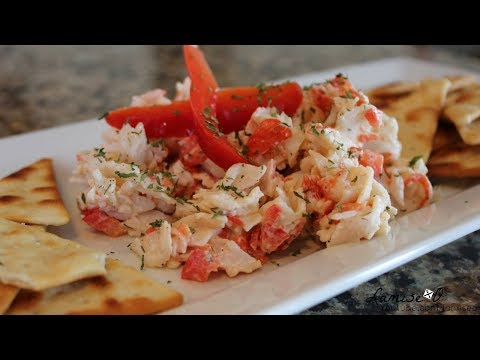 Imitation Crab Salad Recipe | Easy Crab Salad | Episode 107