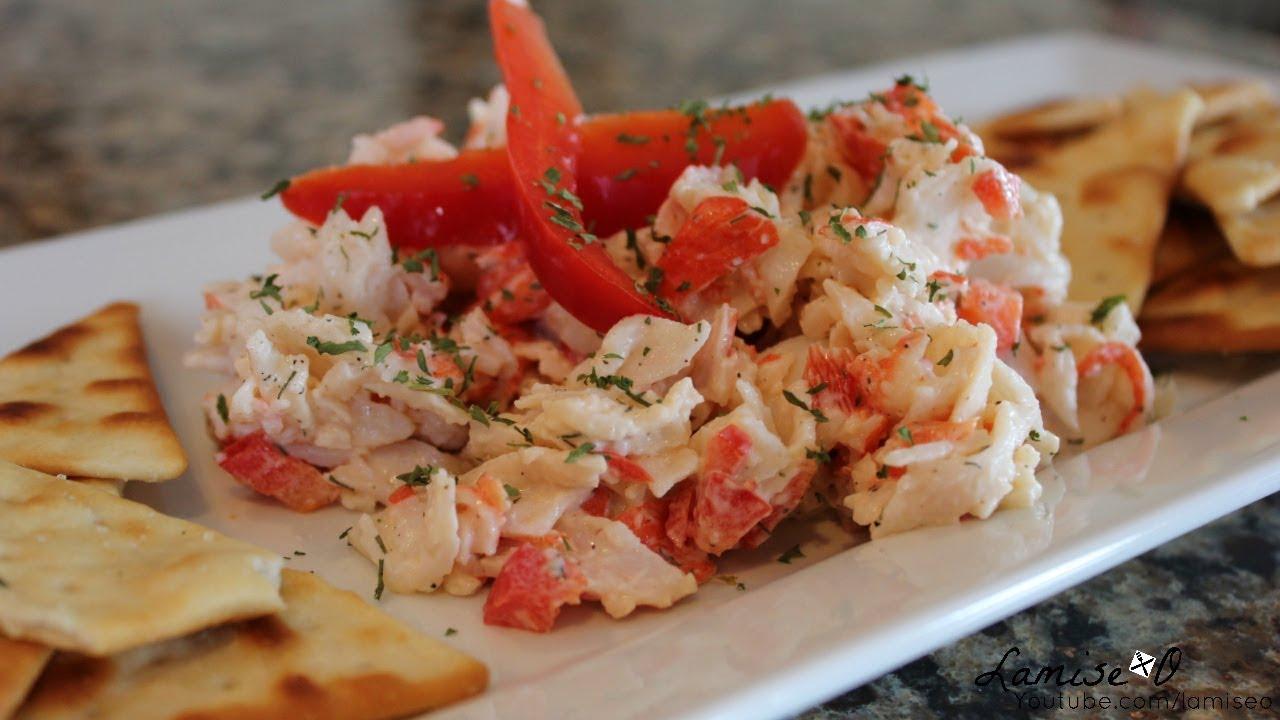 Imitation Crab Salad Recipe | Easy Crab Salad | Episode 107 - YouTube